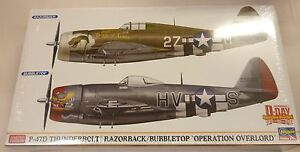 Hasegawa-1-72-P-47D-Thunderbolt-2-Kits-Razorback-amp-Bubbletop-Overlord-2099