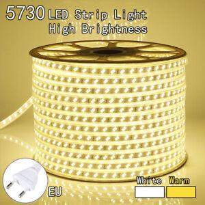 LED-1M2M3M5M10M-5730-Strip-Light-120LEDS-M-Flexible-Tape-Rope-Waterproof-SMD220V
