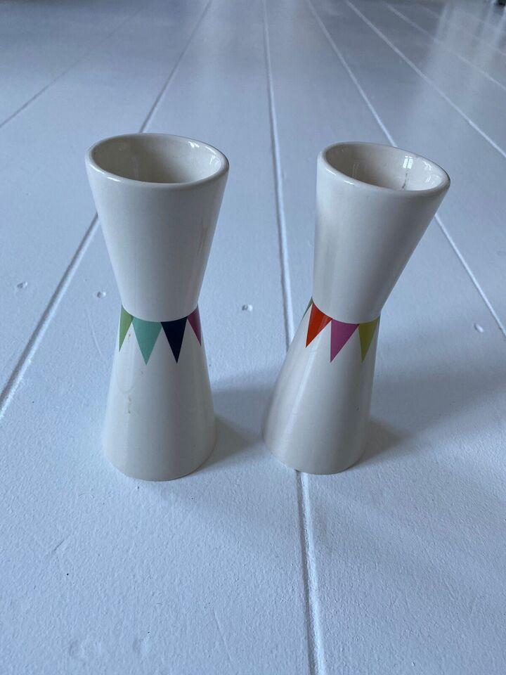 Keramik, Kande og lysestager , HELBAK