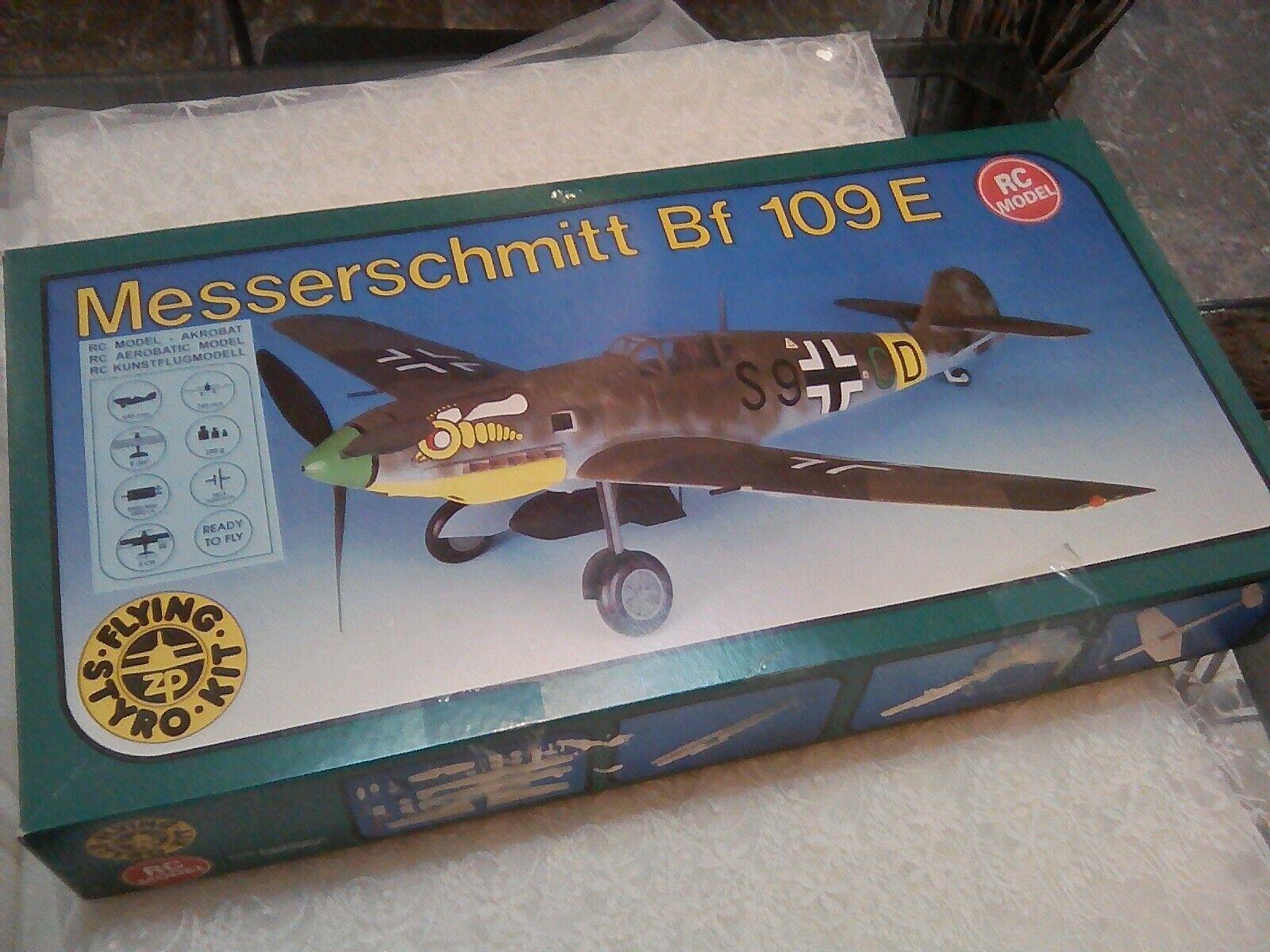 Messerschmitt Messerschmitt Messerschmitt Bf 109 e hormigón armado modelo areo retro. 615