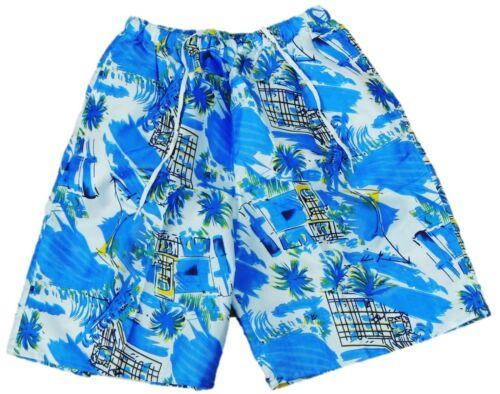 1 Jeunes longtemps maillot bain secondé Shorts Pantalon Taille 158 164 170 176 182 188