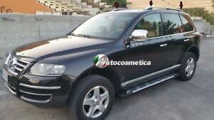 VW-Touareg-02-10-Barre-Mancorrenti-Portapacchi-Longitudinali-Tetto-Argento
