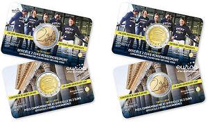 Coincard-2-euros-commemorative-BELGIQUE-2017-200-ans-de-l-039-universite-de-Ghent