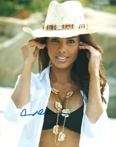 Carmella-DeCesare-Signed-Photo-8x10-77A-Playmate-of-the-Month-April-03-WWE-S-I
