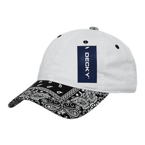 23e86efc06f Decky Trendy Paisley Bandanna Polo 6 Panel Baseball Snapbacks Hats ...
