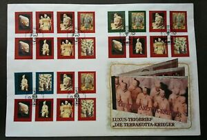 [SJ] United Nations Terracotta 1997 China Heritage History Culture 中国兵马俑 (FDC)