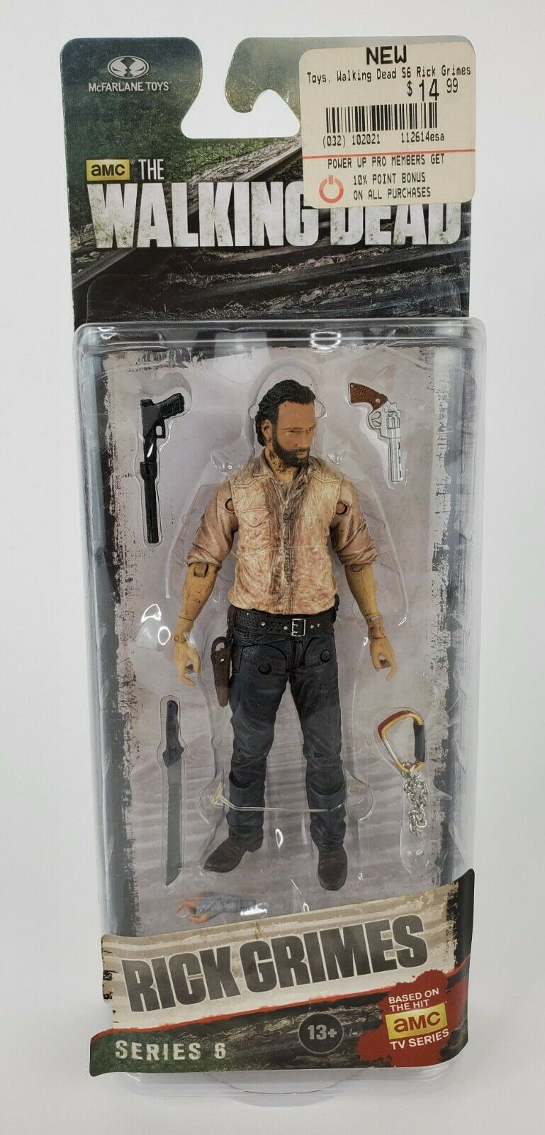 McFarlane Toys The Walking Dead Rick Grimes 2 pouces Mini Figure loose