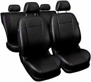 CAR SEAT COVERS full set fits Vauxhall Zafira Universal Leatherette