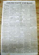 Lot of 30 ORIGINAL 1800-1861 US newspapers PRE CIVIL WAR : 150-210 years old