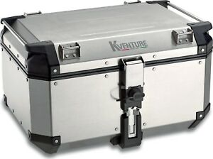 Topcase Koffer KVE58A K-VENTURE Monokey Silber Kappa Neu Top!!