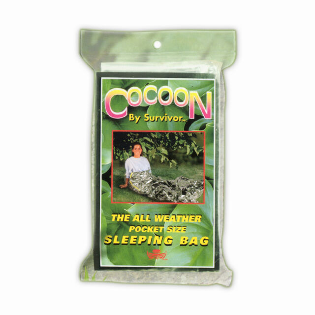 The Cocoon Sleeping Bag (CC-01) The All Weather Pocket Size Sleeping Bag