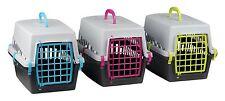 Plastica Pet Carrier per Cane Cucciolo Gatto Gattino Coniglio Trasporti Viaggi Gabbia Box