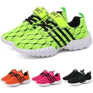 Kids Boys Girls Running Shoes Sneakers Athletic Sports Tennis Outdoor Walking