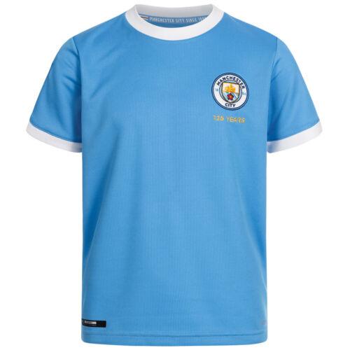 Manchester City Puma Football Enfants 125 anniversaire maillot 756423-01 NEUF