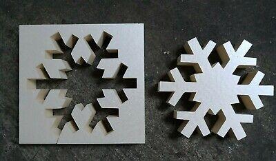 """Beton Gießform Styrodur /""""Hohlen Stern/"""" 20x4 cm Tisch Schaufenster Adventsgesteck"""