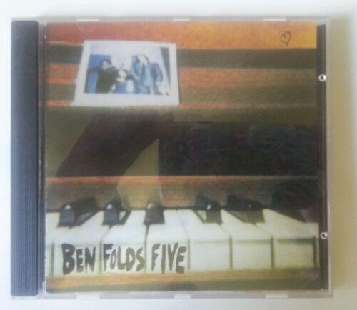 1 of 1 - BEN FOLDS FIVE 'BEN FOLDS FIVE' CD ALBUM 1995 1990s ALT ROCK