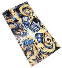 "Doctor Who - 100% Cotton Exploding Tardis Bath / Beach Towel (60"" X 30"")"
