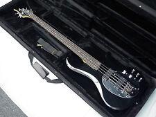 TRABEN Neo 4-string bass guitar NEW Gloss Black NEW w/ LIGHT HARD CASE