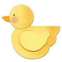 Sizzix 655350 Originals Die 4.75 in. X2.75 -Duck Craft Supplies