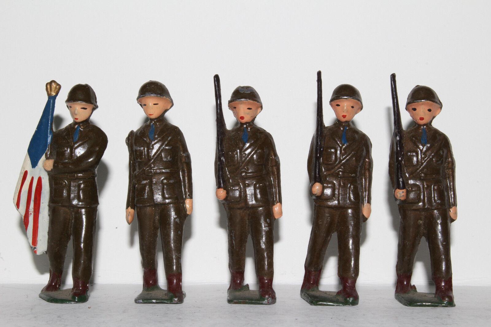 Japan Hollow Cast Lead Soldiers Sonsco