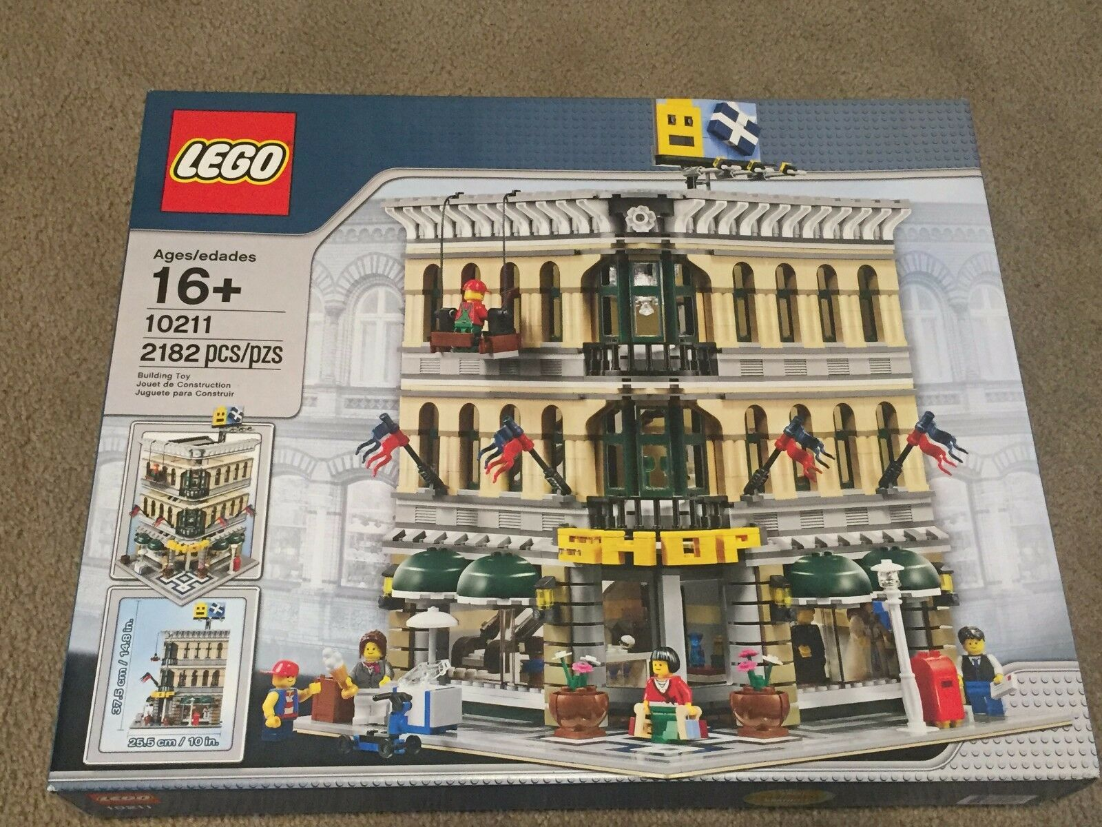 Lego Lego Lego Creator 10211 Grand Emporium New in sealed box 1235d7