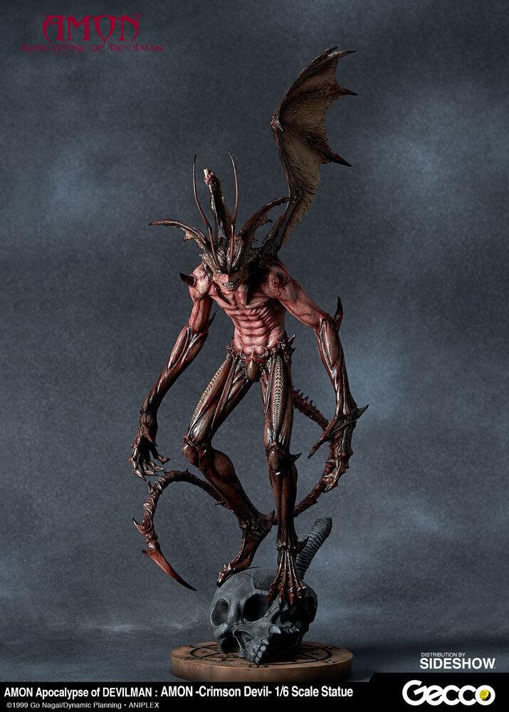 Go Nagai Amon Crimson Devil  Apokalypsen av Devilman Staty Gecco Sideeshow RARE