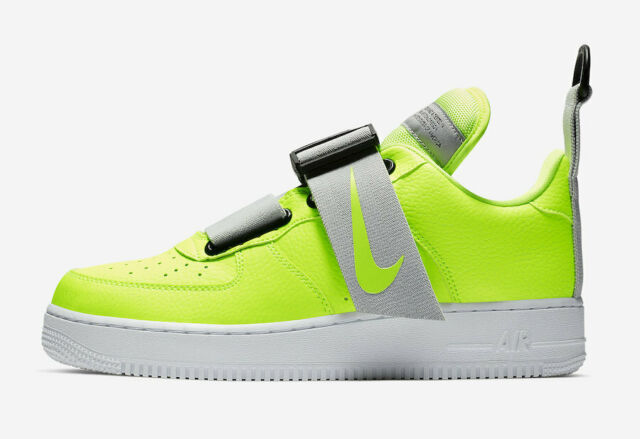 NEW MENS NIKE AIR FORCE 1 UTILITY SNEAKERS AO1531 700-SHOES-SIZE 11