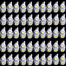 50x T10 194 168 W5W Wedge 5050 5SMD LED Bulb Bulbs Xenon White Car Tail Light HS