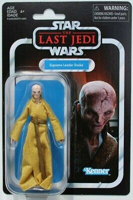 STAR WARS VINTAGE COLLECTION VC-121 THE LAST JEDI SUPREME LEADER SNOKE FIGURE