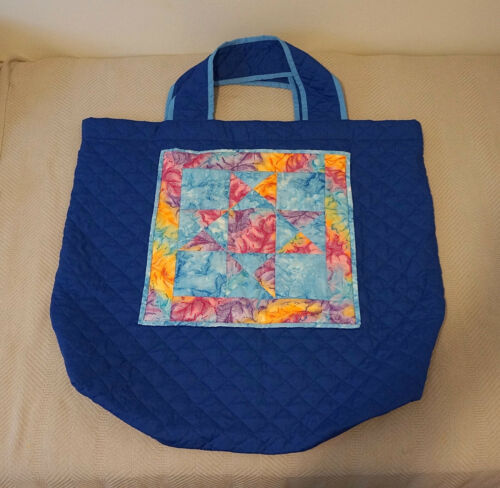 Tote Bag Extra Large Quilted Bag for Quilts Quilti