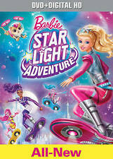 Barbie: Star Light Adventure (DVD + Digital HD) BRAND NEW SEALED