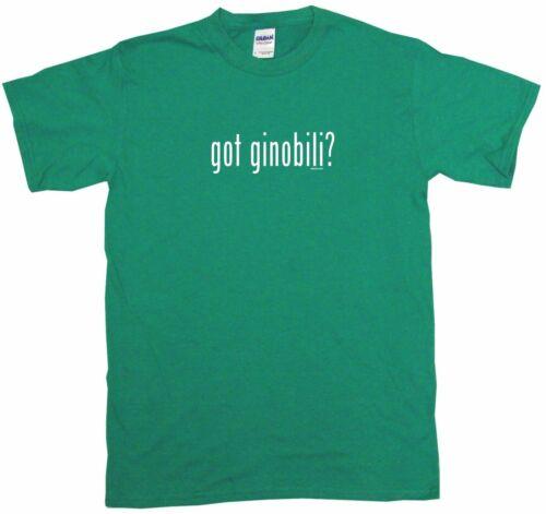 Got Ginobili Kids Tee Shirt Pick Size Color 2T-XL