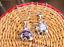 Collana Donna Cristallo Austria Swarovski Ciondolo Fiore Rosa Punto Luce Argento