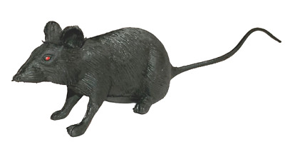 Hallowen Joke Fake Rubber Plastic Rats Mouse Tricks Pranks Props Toy Children US