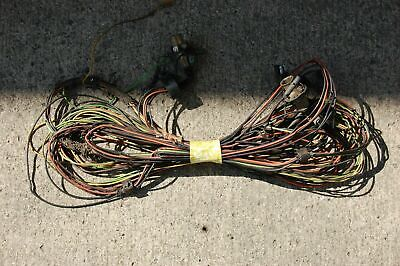 1969 mustang wiring harness 1968 torino rear tail light trunk wiring harness oem 1969 68 69  1968 torino rear tail light trunk