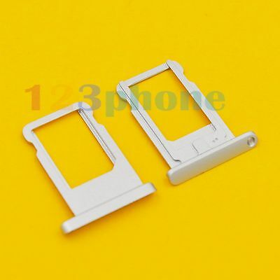 BRAND NEW SIM CARD SLOT TRAY HOLDER FOR IPAD MINI 1, 2 RETINA #F-668_SILVER