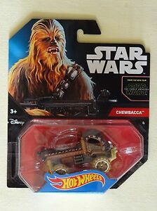 Star-Wars-Hot-Wheels-Voiture-Chewbacca-Mattel-Neuf