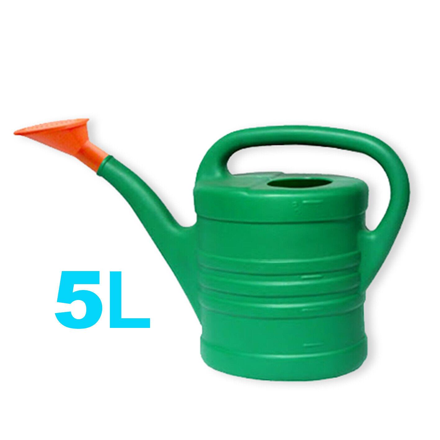 ECO-Friendly_Plastic // 5 Litre Garden Lightweight Watering Can Plants Outdoor