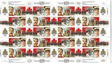 CANADA - SG1806-1807 MNH 1998 SHEETLET (10 SETS) 125th ANNIV MOUNTED POLICE