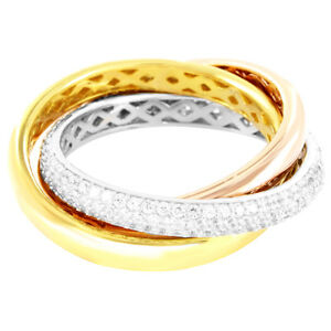 New-Sterling-Silver-Solitaire-Iced-Out-Entangled-Band-With-14K-Custom-Finish