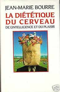 Livre la diététique du cerveau Jean-Marie Bourre book