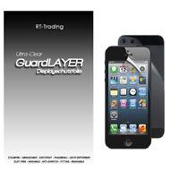Apple Iphone 5 Display Schutzfolie Vorder Und Rückseite Folien Schutz Set