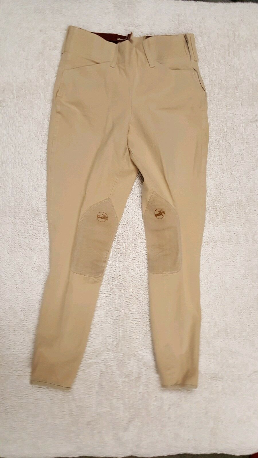 Grand Prix Breeches 26 Long side zip low rise