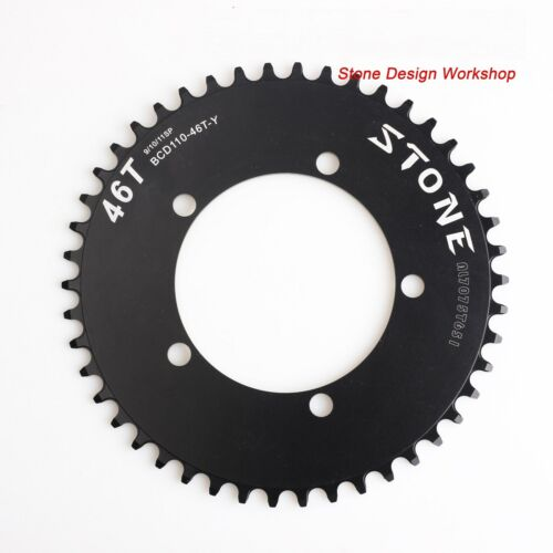 Road Folding Bike Chainring BCD110 Narrow Wide Circle 1x System 5 bolts