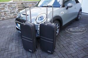 Original Roadsterbag Koffer Set Für Mini Cabrio F57 Schwarz Naht