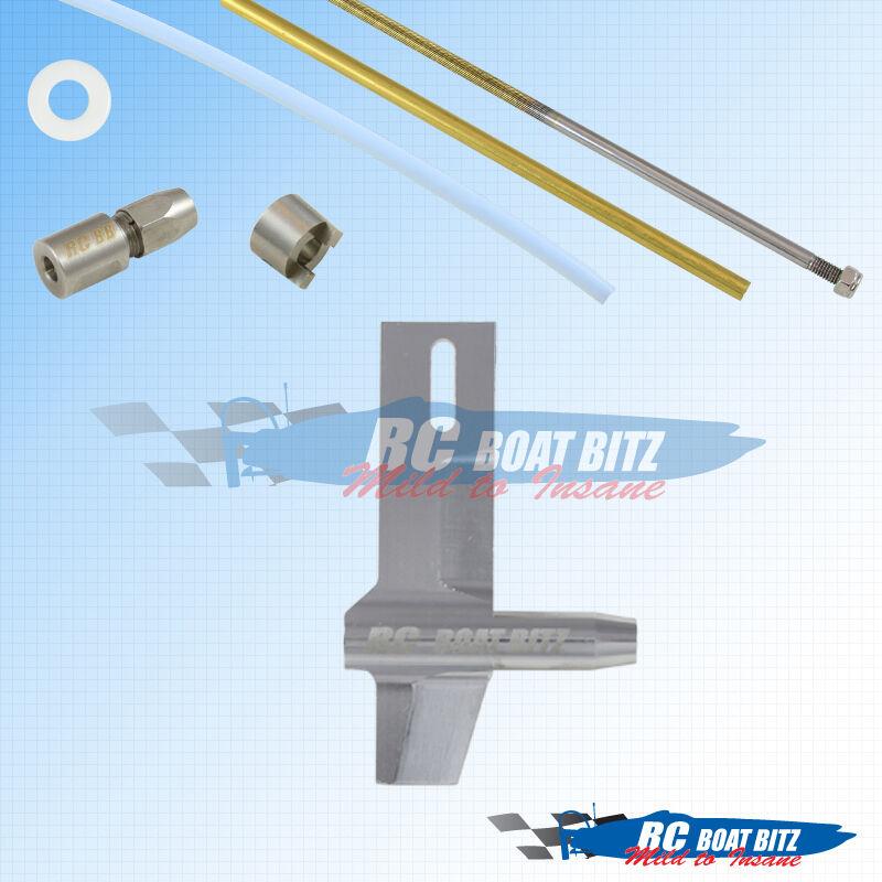 Genesis RC boat 3 16  shaft upgrade kit