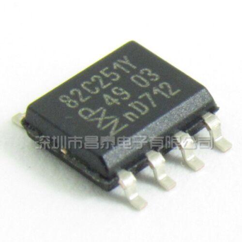 5PCS  CAN transceiver IC SOP-8 PCA82C251T//YM PCA82C251Y 82C251Y