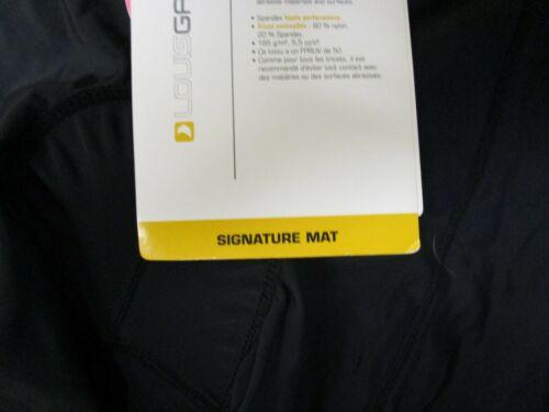 New with Tags Garneau Womens Signature Confort Mat Bike Cycling Short Black XL