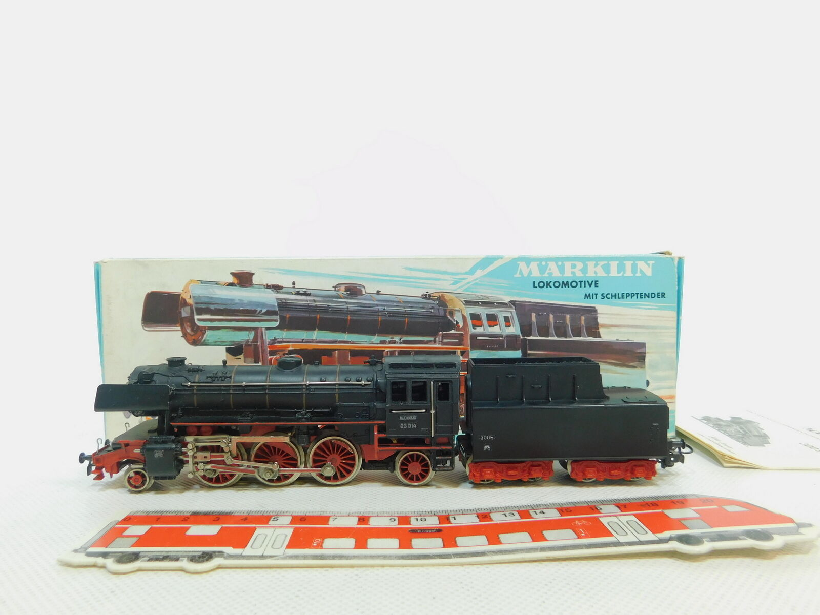 Be760-1Märklin h0 ac Steam Locomotive 23 014; 3005 Very Good + OVP + Instructions