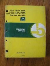 John Deere 2155 2355 2355n 2555 2755 2855n 2955 3155 Tractor Technical Manual
